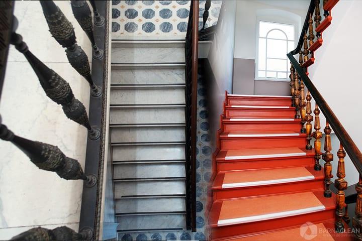 limpieza de escaleras barcelona y alrededores para pisos, comunidades, empresas precios asequibles